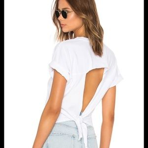 Current Elliot knit top in white NEW WITH TAGS